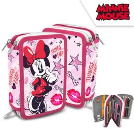 Minnie Mouse Gevulde Etui - 3 laags