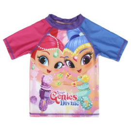 Shimmer and Shine UV Zwemshirt Roze - 2 t/m 6 jaar