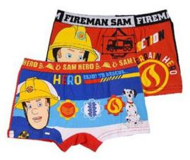 Brandweerman Sam Boxershort (set van 2)