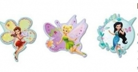 Fairies Foam Muurstickers - 3 stuks