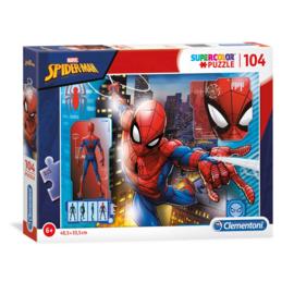 Spiderman Puzzel - 104 stukjes - Clementoni