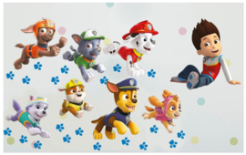 Paw Patrol Muurstickers Run - Walltastic