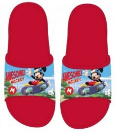 Mickey Mouse Badslippers - Rood