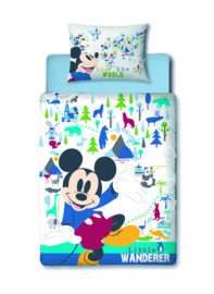Mickey Mouse Peuter Dekbedovertrek 120 x 150 cm