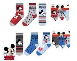 Mickey Mouse Sokken - 3 paar