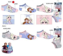 Disney Frozen Sneakersokken - 3 paar - Maat 23 t/m 34