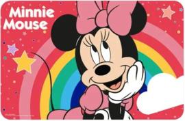 Minnie Mouse Placemat - Regenboog