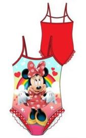 Minnie Mouse Zwempak / Badpak Rood - Maat 128
