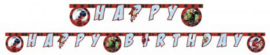 Miraculous Ladybug Letterslinger 'Happy Birthday'