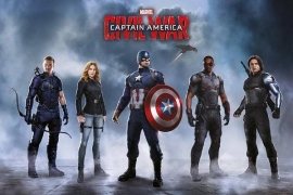Avengers Captain America Civil War - Maxi Poster