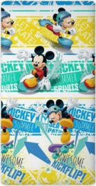 Mickey Mouse Hoeslaken 160x200 cm
