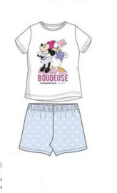Minnie Mouse Shortama - Wit/Bleu