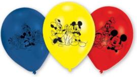 Mickey Mouse Ballonnen - 6 stuks