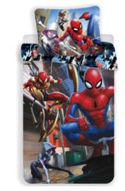 Spiderman Dekbedovertrek 140 x 200 cm