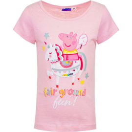 Peppa Pig Unicorn T-shirt - Roze