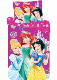 Disney Princess Dekbedovertrek 140 x 200 cm - Favorites
