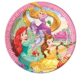Disney Princess Feestbordjes / Gebaksbordjes - 8 stuks