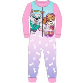 Paw Patrol Pyjama / Onesie / Jumpsuit - Roze
