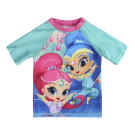 Shimmer and Shine UV Zwemshirt Mint -2 t/m 6 jaar
