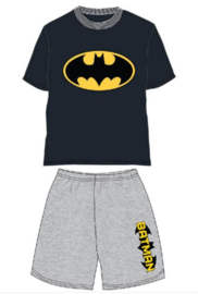 Batman Shortama / Zomer Set - Zwart/Grijs