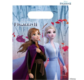 Disney Frozen2 Uitdeelzakjes - 6 stuks