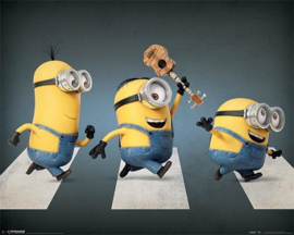 Minions / Despicable Me Abbey Road - Mini Poster