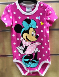 Minnie Mouse Rompertje - Maat 50 t/m 86 - Disney Baby