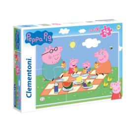 Peppa Pig Maxi Puzzel - 24 stukjes - Clementoni