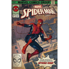 Spiderman Maxi Poster - Comic Front