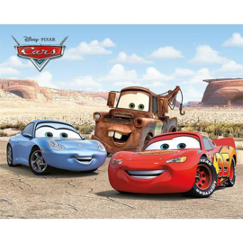 Disney Cars Best Friends - Mini Poster