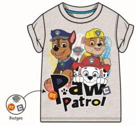 Paw Patrol T-shirt - Grijs