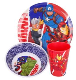 Avengers Kinderservies - Melamine