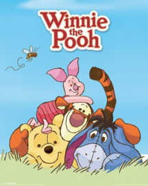 Winnie de Poeh and Friends - Mini Poster