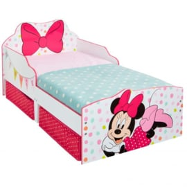 Minnie Mouse Snuggle Peuterbed met Lades - WorldsApart