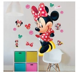 Minnie Mouse XXL Muursticker