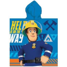 Brandweerman Sam Badponcho - Sneldrogend