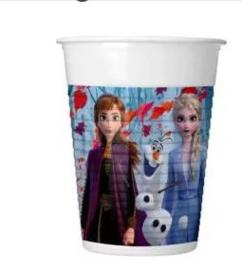 Disney Frozen2 Bekertjes - 8 stuks