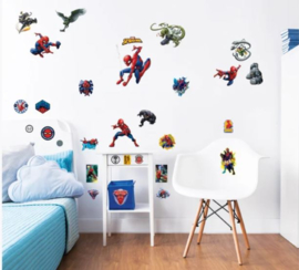 Spiderman Muurstickers Room Decor Kit - Walltastic