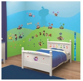 Paw Patrol Muurstickers Room Decor Kit