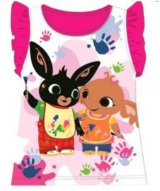 Bing Konijn T-shirt - Fuchsia Roze