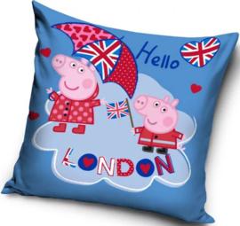 Peppa Pig Kussenhoesje - London