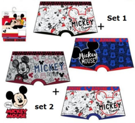 Mickey Mouse Boxershort (set van 2)
