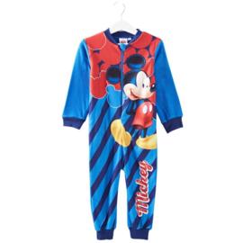 Mickey Mouse Pyjama / Onesie / Jumpsuit - Licht Blauw