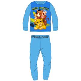 Lion King Fleece Pyjama - Blauw
