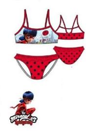 Miraculous Ladybug Bikini Rood - Maat 104