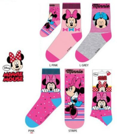 Minnie Mouse Sokken - 1 paar - Maat 23 t/m 34