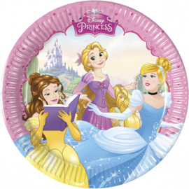 Disney Princess Gebaksbordjes - 8 stuks