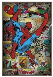 Spiderman Maxi Poster - Comics Retro