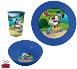 Mickey Mouse Kinderservies - Kunststof