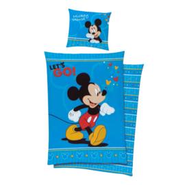 Mickey Mouse Dekbedovertrek 140 x 200 cm